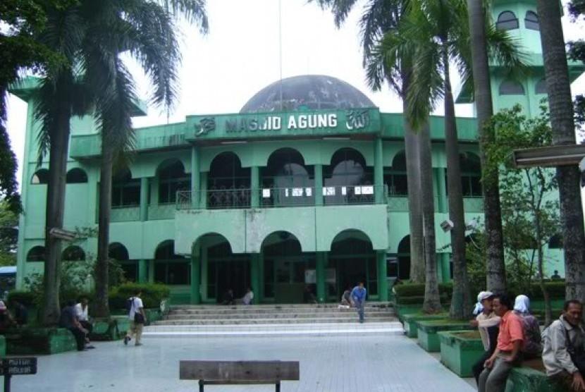 Sempat Mangkrak, Pembangunan Masjid Agung Dilanjutkan