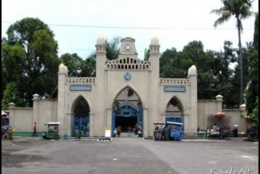 Masjid Taman Sriwedari Didesain Jawa Klasik