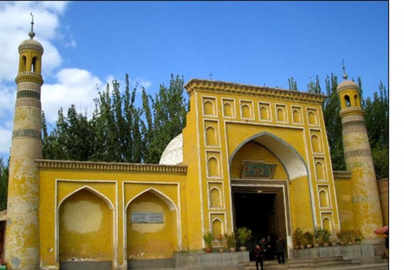 Masjid Aitika Representasikan Bangunan Islam dengan Unsur Etnik
