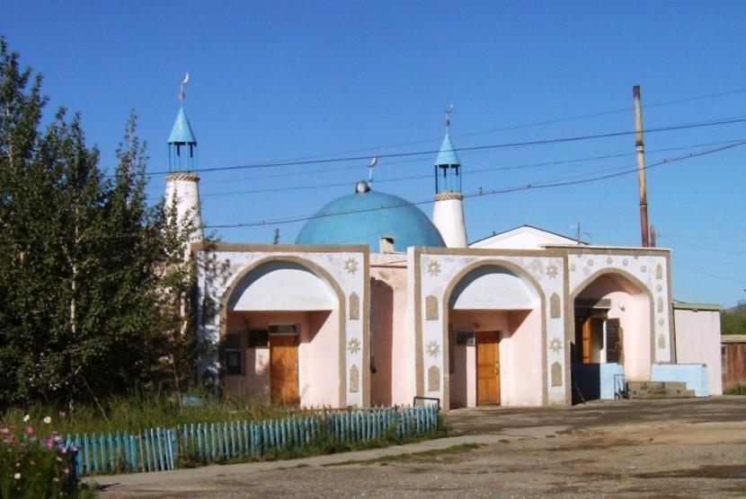 Masjid Bayan Olgii Mongolia