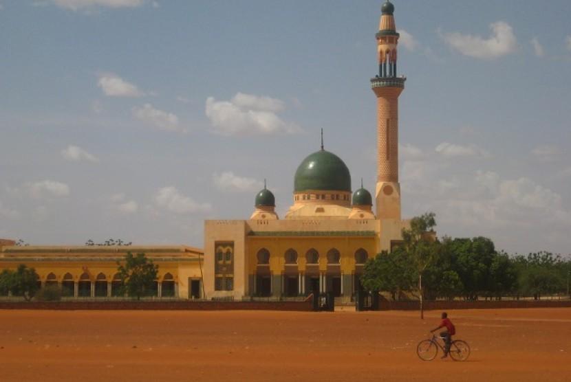 Masjid Besar Niamey, Niger.