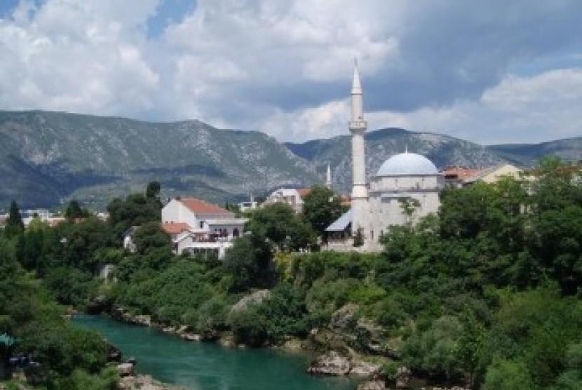 Masjid di Bosnia Herzegovina, ilustrasi