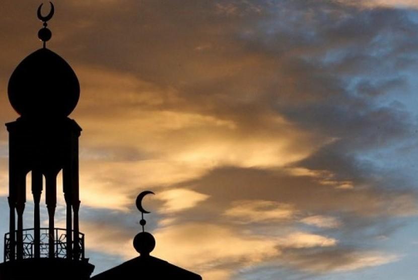 Masjid di Inggris. Ilustrasi