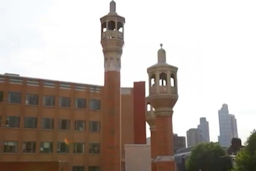 Masjid East London, Inggris