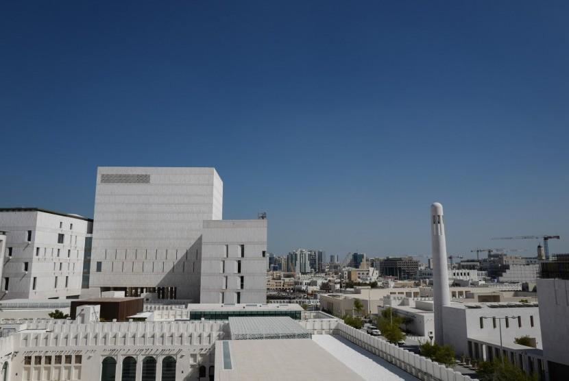 Masjid Msheireb di Qatar.