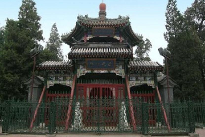 Permalink to Dua Fungsi Menara Masjid Niujie