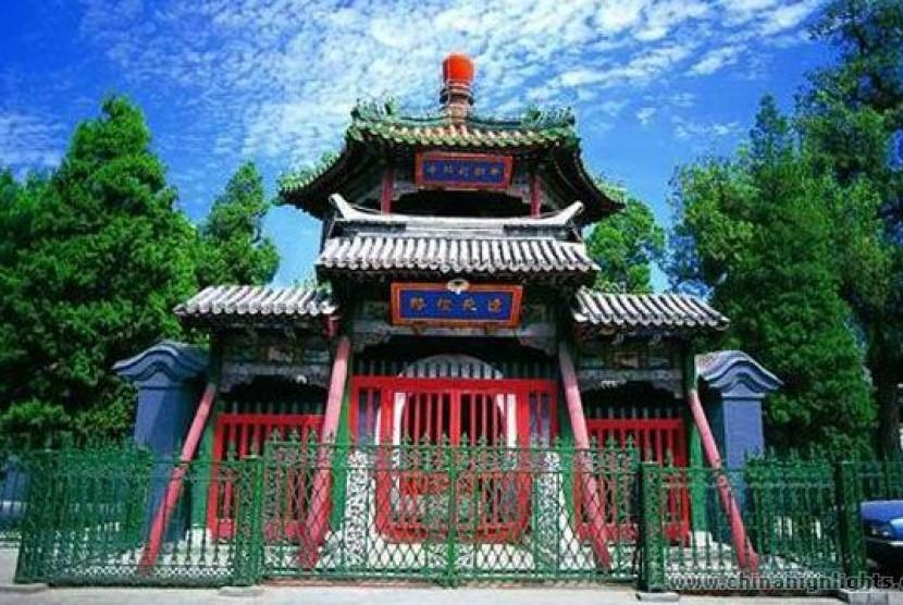 Masjid Niujie di Beijing, Cina.