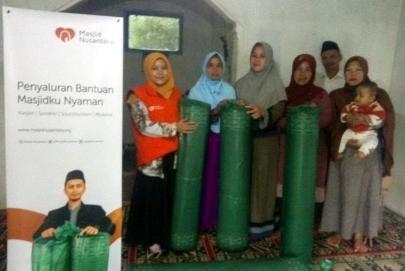 Masjid Nusantara Lengkapi Fasilitas Masjid di Ciamis