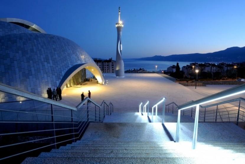 Masjid Rijeka, Pertama di Kawasan Adriatik