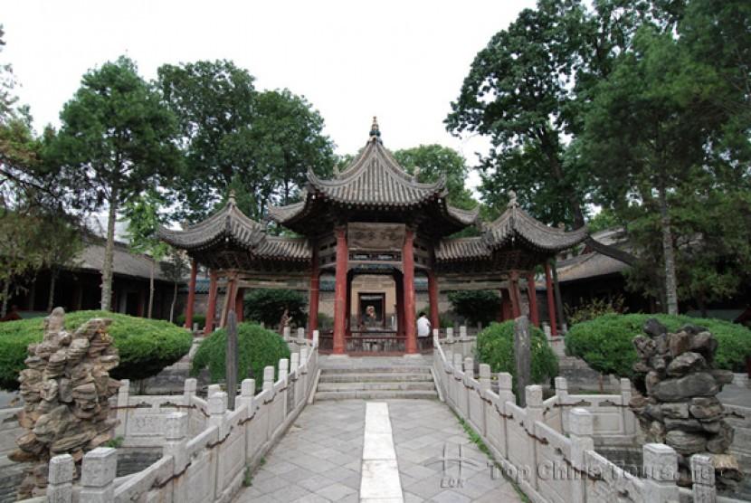 Masjid Raya Xi'an di Kota Chang'an (Xi'an), Provinsi Shaanxi, Cina.