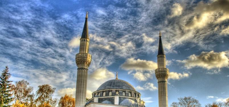 Masjid Sehitlik di Jerman.
