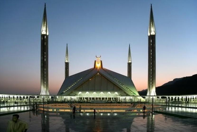 Masjid Shah Faisal Islamabad, Pakistan.