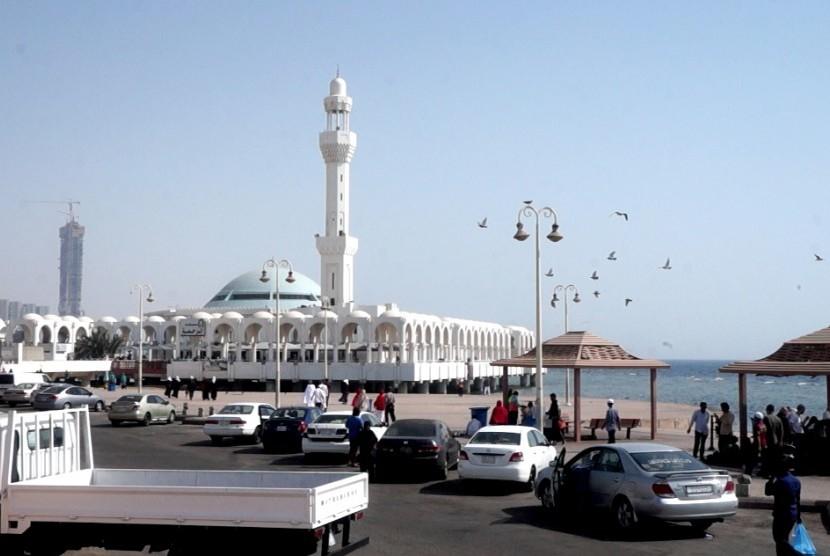 Masjid Terapung di Jeddah, Arab Saudi (Ilustrasi)