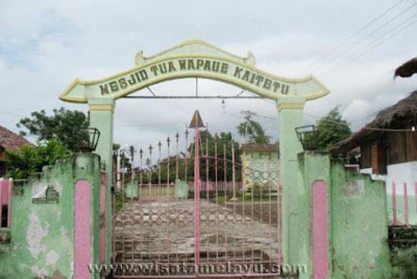 Masjid tua Wapawue