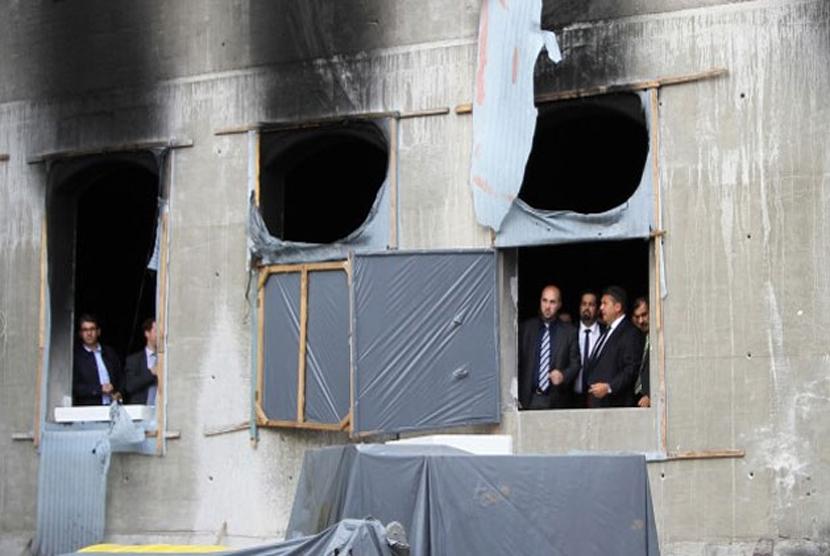 Masjid turki di lempar molotov di Jerman