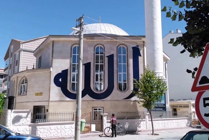 Nuansa Alam Masjid Hamidiyah Turki