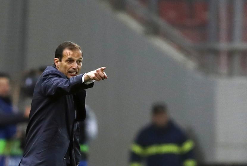 Allegri Senang dengan Reaksi Pemain Juventus