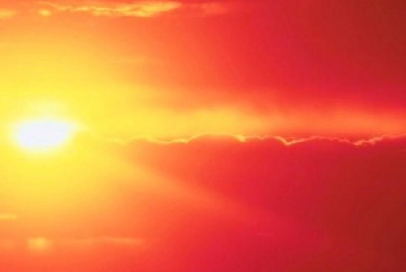 Matahari (Illustrasi)