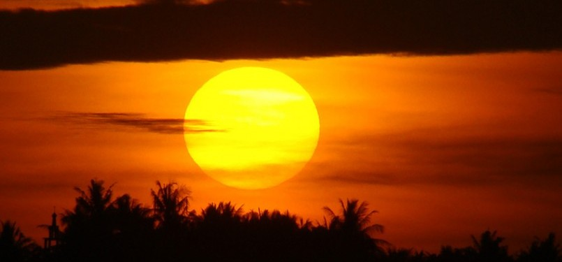 Matahari (ilustrasi)