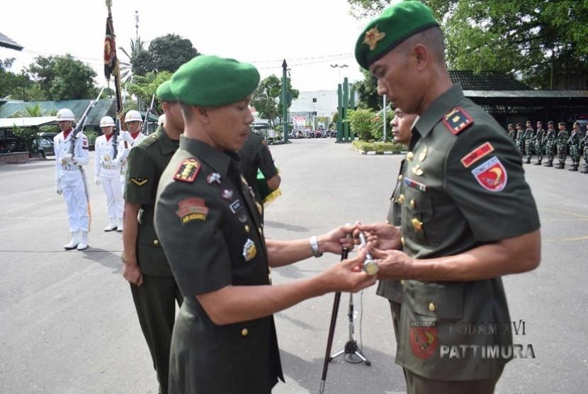 Mayor Inf Indra Hirawanto Resmi Jabat Danyonif 731/Kabaresi