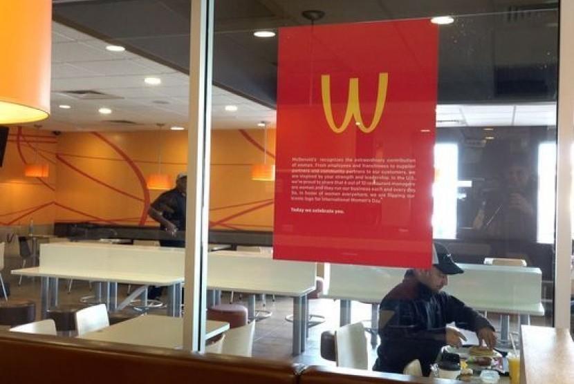 McDonald's ubah logo