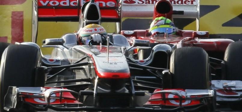 McLaren - Lewis Hamilton dan Ferrari - Felipe Massa