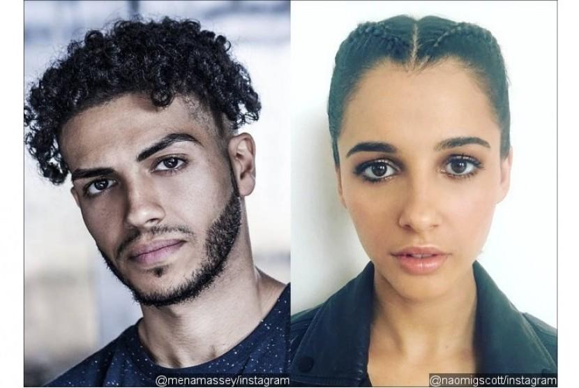 Mena Massoud-Naomi Scott Perankan Aladin dan Putri Yasmin