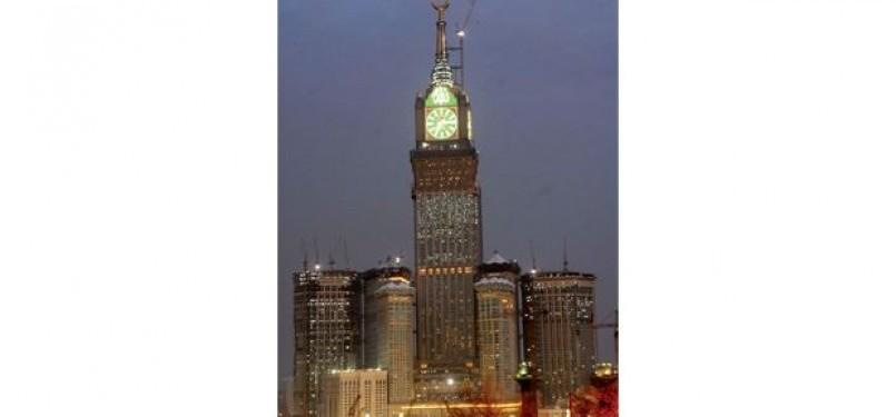 Menara Jam Raksasa di Makka
