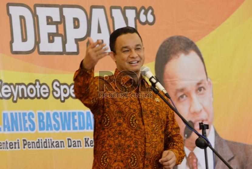 Mendikbud Anies Baswedan (ilustrasi)