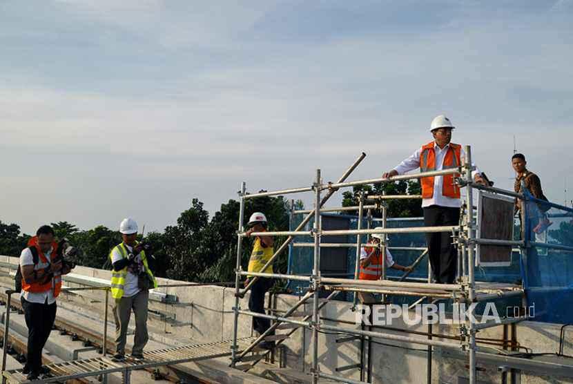 Pemerintah Kejar Pengoperasian LRT Sebelum Asian Games 2018