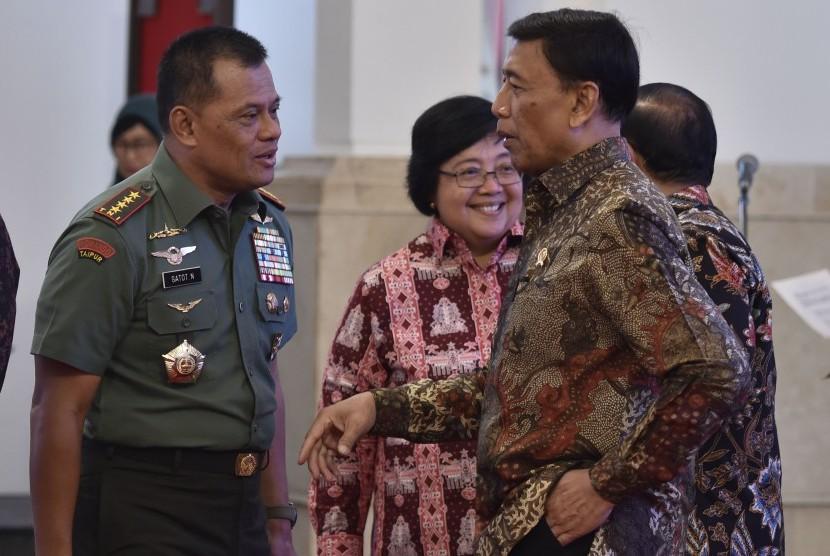 Wiranto Tunggu Klarifikasi AS Soal Penolakan Panglima TNI