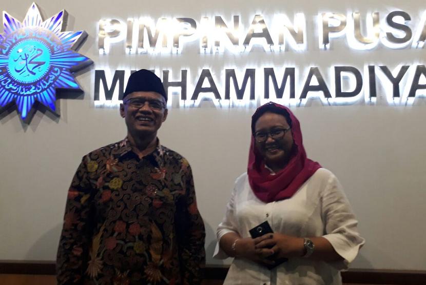 Menlu Silaturahim ke PP Muhammadiyah
