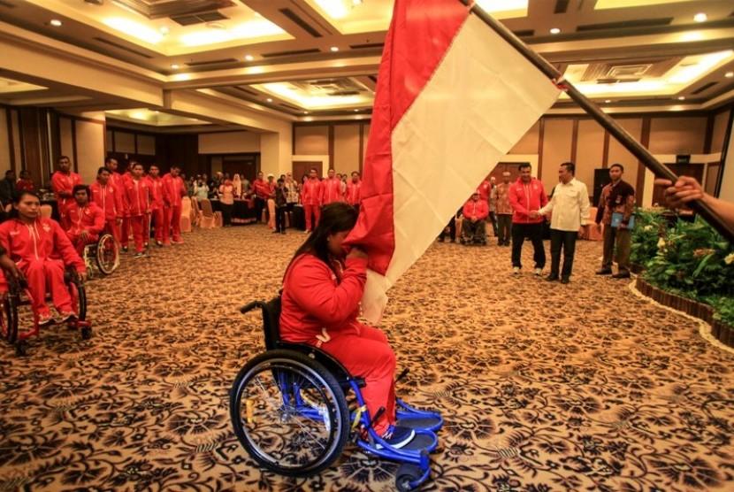 Menpora Lepas Kontingen Paralimpik Indonesia ke Rio De ...