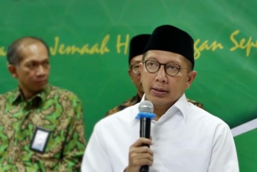 Religious Affairs Minister Lukman Hakim Saifuddin
