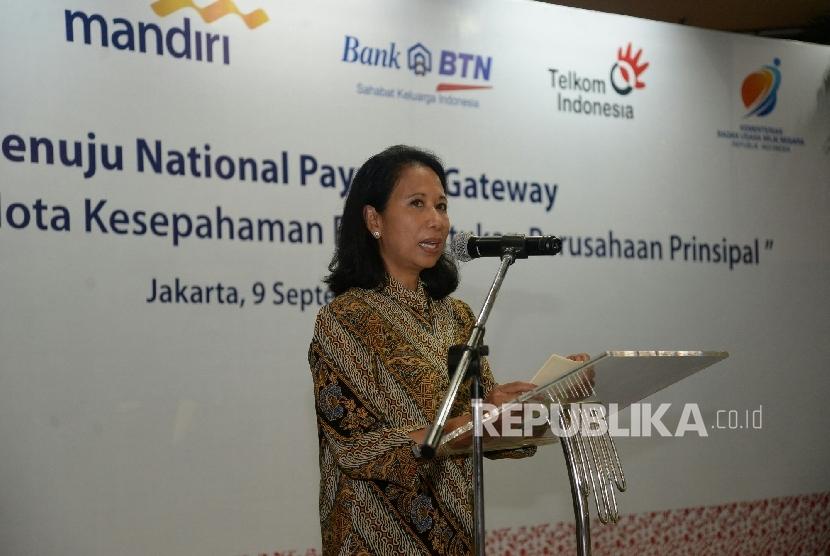 State Enterprises Minister Rini Soemarno