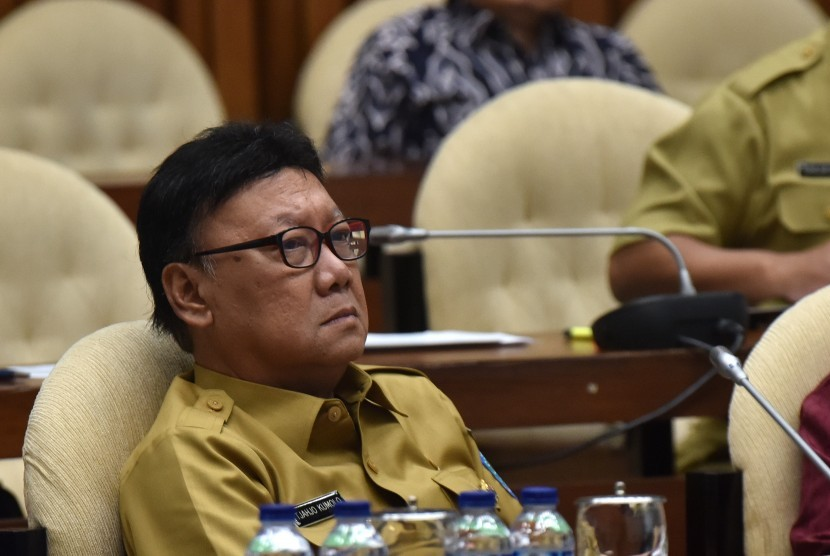 Minister of Home Affairs Tjahjo Kumolo