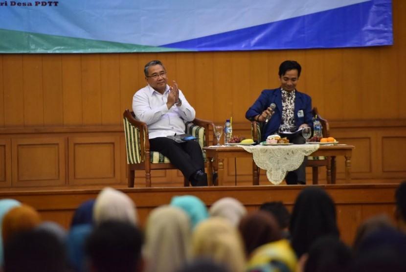 Menteri Desa, Pembangunan Daerah Tertinggal dan Transmigrasi Eko Putro Sandjojo