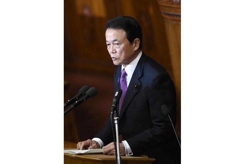 Menteri Keuangan Jepang Taro Aso