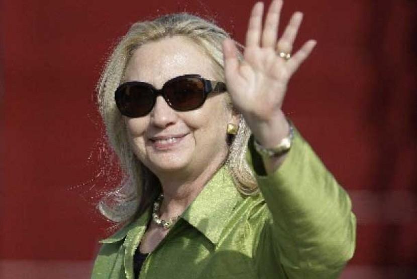Menteri Luar Negeri AS, Hillary Rodham Clinton.
