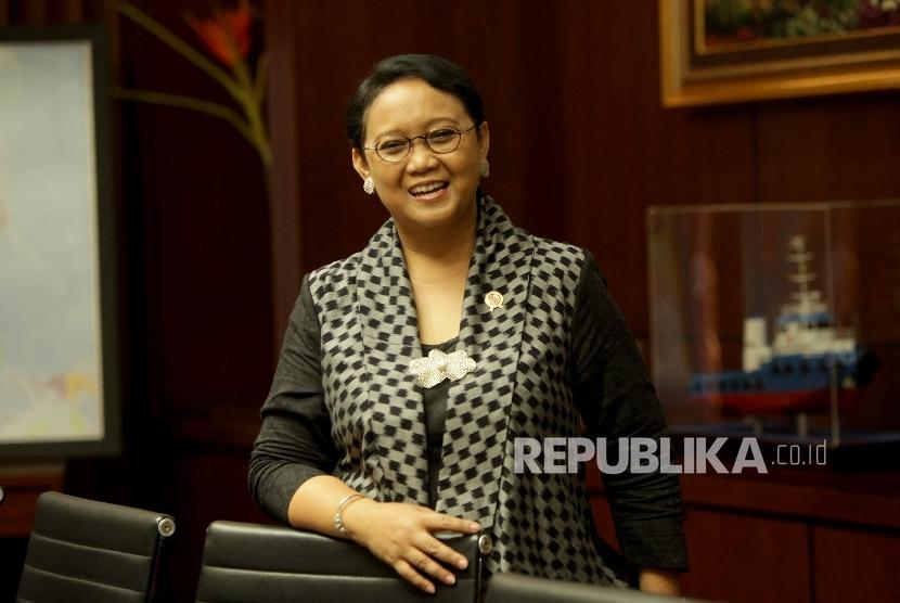 Indonesian Foreign Minister Retno L.P Marsudi