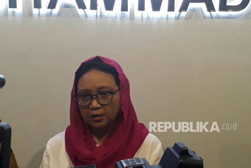 Menteri Luar Negeri, Retno Lestari Priansari Marsudi.