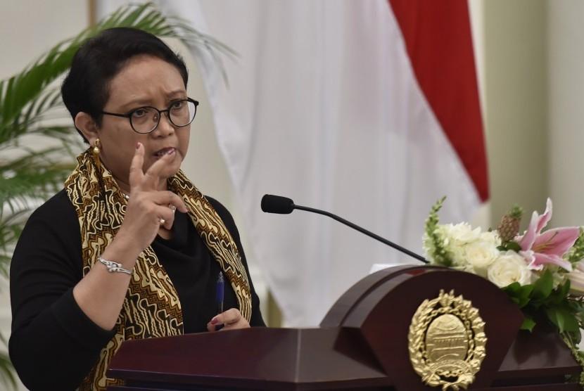 Menteri Luar Negeri Retno Marsudi.