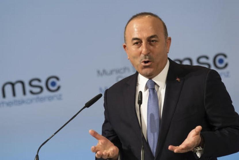 Menteri Luar Negeri Turki Mevlut Cavusoglu.