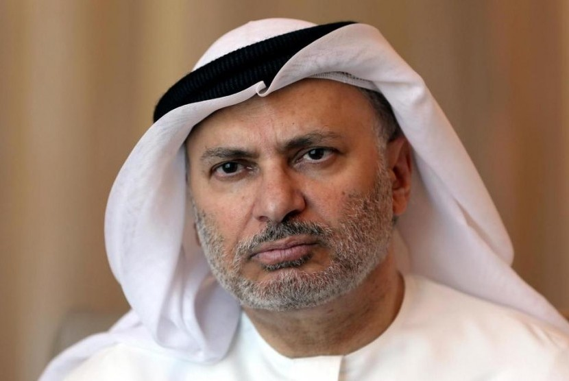 Menteri Luar Negeri Uni Emirat Arab Anwar Gargash