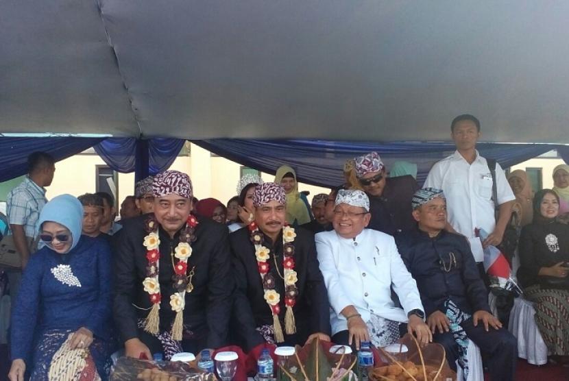 Menteri Pariwisata Arief Yahya membuka perhelatan Gebyar Pesona Budaya Garut (GPBG) di Lapang Ciateul, Kamis (22/2).