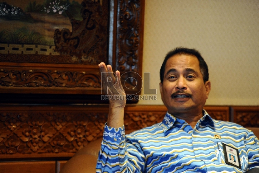 Menteri Pariwisata Arief Yahya. (Republika/ Tahta Aidilla)