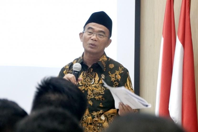 Menteri Pendidikan dan Kebudayaan Muhadjir Effendy