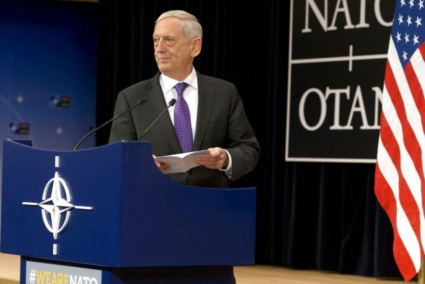 Menteri Pertahanan AS Jim Mattis.