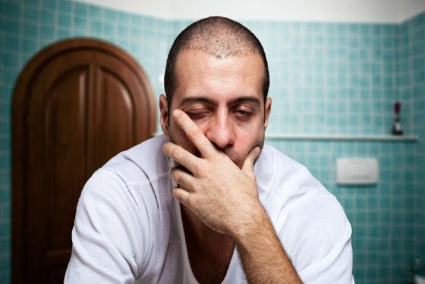 Merokok picu kelelahan pada tubuh. Ilustrasi