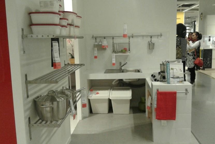 Meski Kecil Dapur Tetap Bisa Ditata Agar Menarik Dan Ergonomis